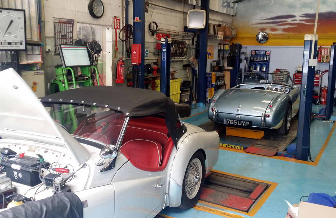 Classic Car Service and Restoration