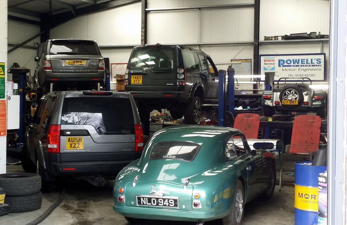 Powells of Ripon Land Rover Specialists